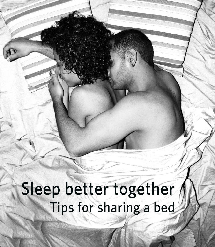 Tips for sleeping better together on Valentines Day